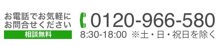 0120-966-580
